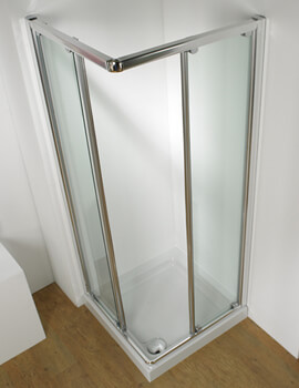 Original Corner Access Straight Sliding Door With Tray