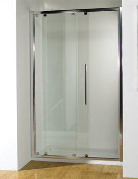 Kudos Original Straight 1850mm High Straight Sliding Door