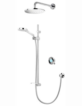 Q With Adjustable And Fixed Wall Heads - HP Or Combi