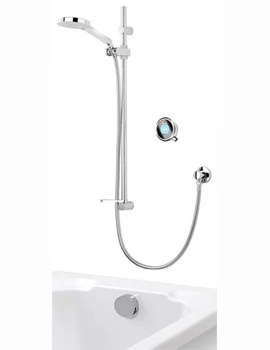 Q With Adjustable Head And Bath Overflow Filler - Gravity Pumped