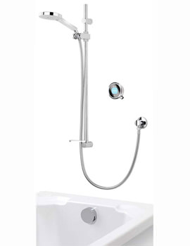 Q With Adjustable Head And Bath Overflow Filler - HP Or Combi