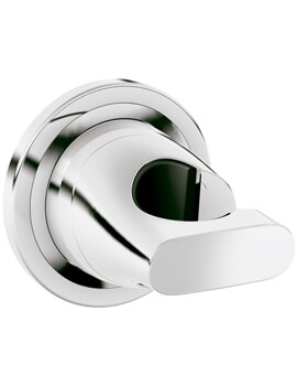 Ondus Wall Mounted Chrome Handset Holder