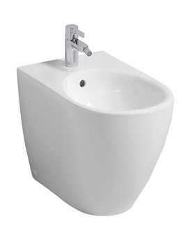 Icon 355 x 560mm Back To Wall Floorstanding Bidet