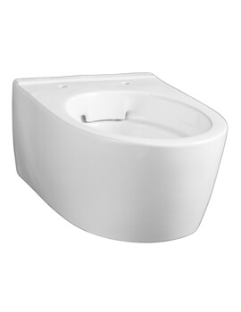 Icon 355 x 330mm Rimless Wall Hung Small Projection WC Pan