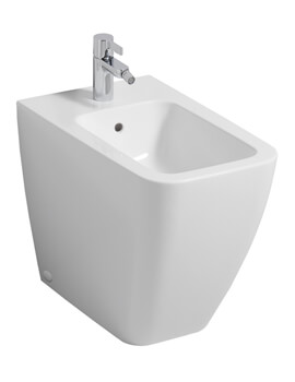 Icon Square 355 x 560mm Back To Wall Floorstanding Bidet