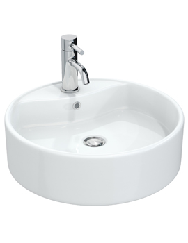 Miller 460mm Round Counter Top Ceramic Basin