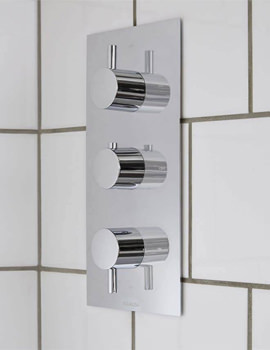 Aqualisa Rise DCV 3 Way Mixer Shower - HP Or Combi