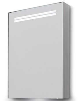 Bathroom Origins Space II 500 x 700mm Single Door Mirror Cabinet