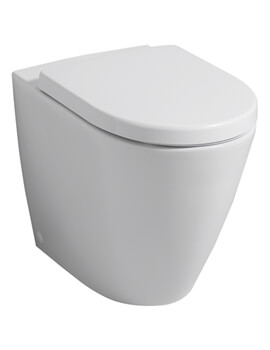 Icon 355 x 405mm Back To Wall Floor Standing WC Pan