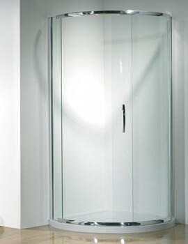 Infinite Curved Corner Sliding Shower Door