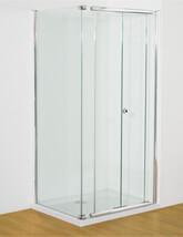 Kudos Infinite Semi-Frameless Bi-Fold Shower Door