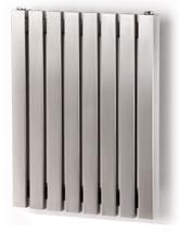 Aeon Arat E 600mm High Stainless Steel Designer Radiator Brushed Matt