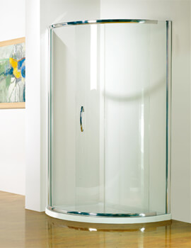 Infinite Offset Curved Sliding Door
