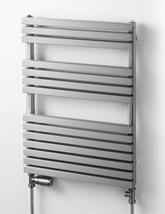 Aeon Atilla 500mm Wide Stainless Steel Towel Rail