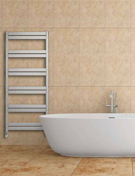 Aeon Cat Ladder 530mm Wide Stainless Steel Towel Rail