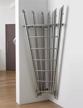 Aeon Bamboo Corner 600 x 1800mm Stainless Steel Designer Radiator