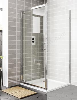 Essential Spring Pivot Door 900 x 1900mm