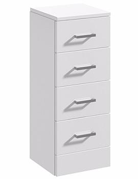 Alaska 350 x 300mm 4 Drawer Furniture Unit