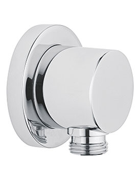 Wall Mounted Outlet For Shower Handset Chrome