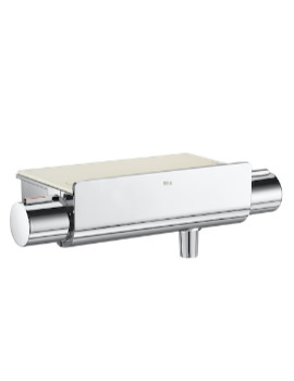 T-2000 Wall-Mounted Thermostatic Shower Mixer Valve With Shelf
