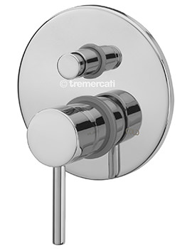 Milan Manual Shower Valve With Push Button Diverter-63130