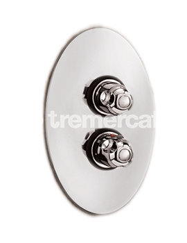 Roma Gold Plated Concealed Thermostatic Shower Valve