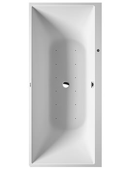 DuraSquare 1800 x 800mm Corner Left Whirltub With Air System