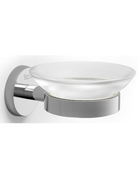 Twin 128 x 105mm Wall Mounted Soap Dish