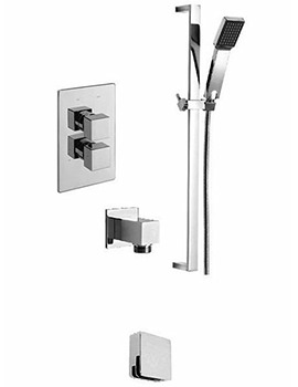 Geysir Concealed Valve With 2 Way diverter And Shower Set
