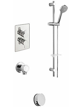 Lollipop Concealed 2 Way Diverter Valve And Shower Set