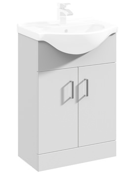 Mayford 550mm Floor Standing Cabinet With Basin 1