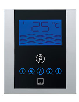 Vado Identity Thermostatic Valve With Diverter And Digital Control Panel - Image
