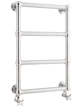 Bayswater Sophia 475 x 750mm Floor Mounted Towel Rail