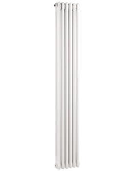 Nelson 291 x 1800mm White Triple Radiator