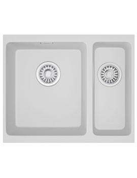 Kubus Designer Pack KBG 160 Fragranite Sink And Tap