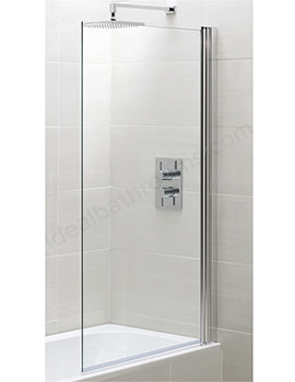 Spring Square Bath Screen 800 x 1500mm