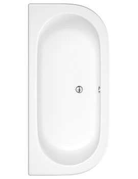 Pearl 1700 x 800mm Back To Wall Bath With Panel