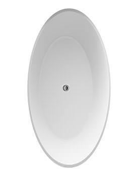 Grace 1510 x 760mm Round Freestanding Bath