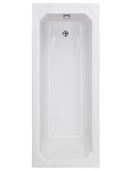 Bathurst 1700mm x 700mm Single Ended Bath