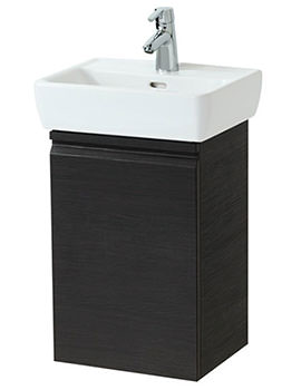 Laufen Pro 380mm Single Door Vanity Unit Wenge - Right Hinge Door
