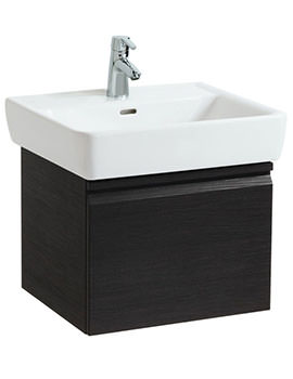 Laufen Pro 470mm Single Drawer Wenge Vanity Unit