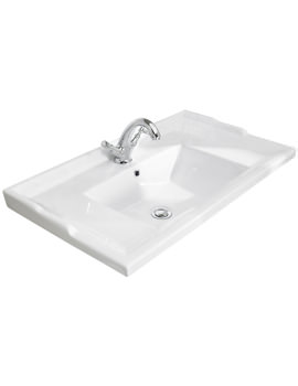 800mm Traditional Wall Hung Basin With 1 Taphole