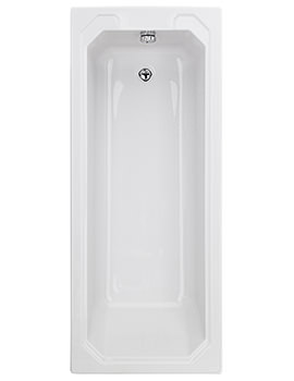 Bayswater Bathurst 1700mm x 750mm Single Ended Bath