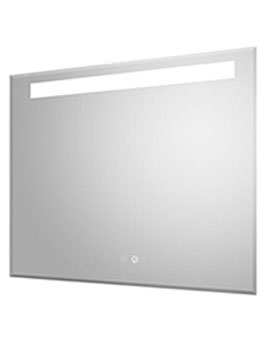 Vizor 800 x 600mm LED Mirror Glass With Demister Pad
