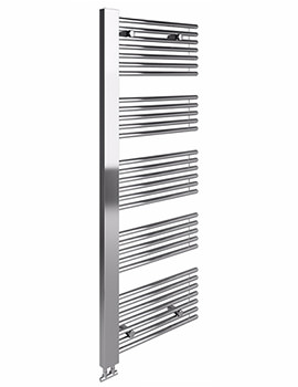 Leo Chrome Towel Warmer 600 x 1600mm