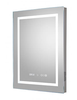Prisma 500 x 700mm LED Mirror With Bluetooth And Demister Pad