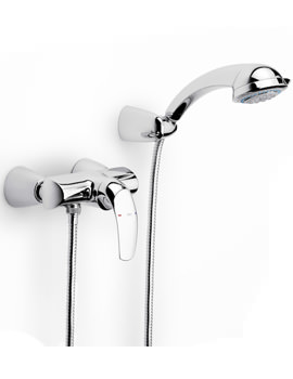 M2-N Wall Mounted Shower Mixer With Kit