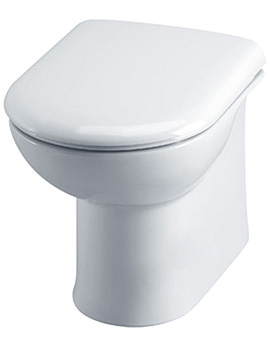 Essential Gem Back To Wall WC Pan 535mm