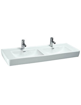 Pro A 1300 x 480mm Double Countertop Basin
