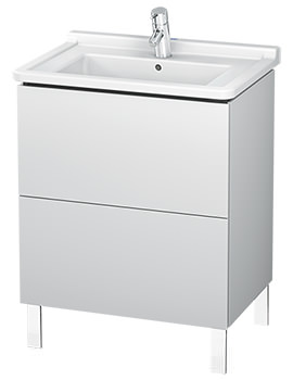 L-Cube Floor Standing Vanity Unit For Starck 3 Basin